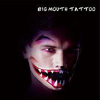 Татуировка Вампир на Halloween Big Mouth Tattoo