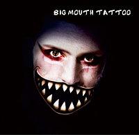 Татуировка Чешир на Halloween Big Mouth Tattoo, фото 1