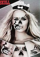 Татуировка Skull на Halloween