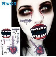 Татуировка Sewing Dolls на Halloween, фото 1