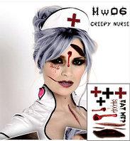 Татуировка White Nurse на Halloween