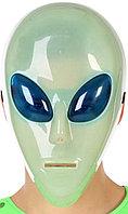 Маска инопланетянина неоновая