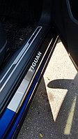 Накладки на пороги Volkswagen Tiguan 2016-