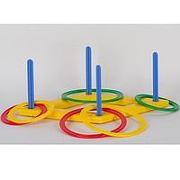 Развивающая игрушка Кольца Кольцеброс
