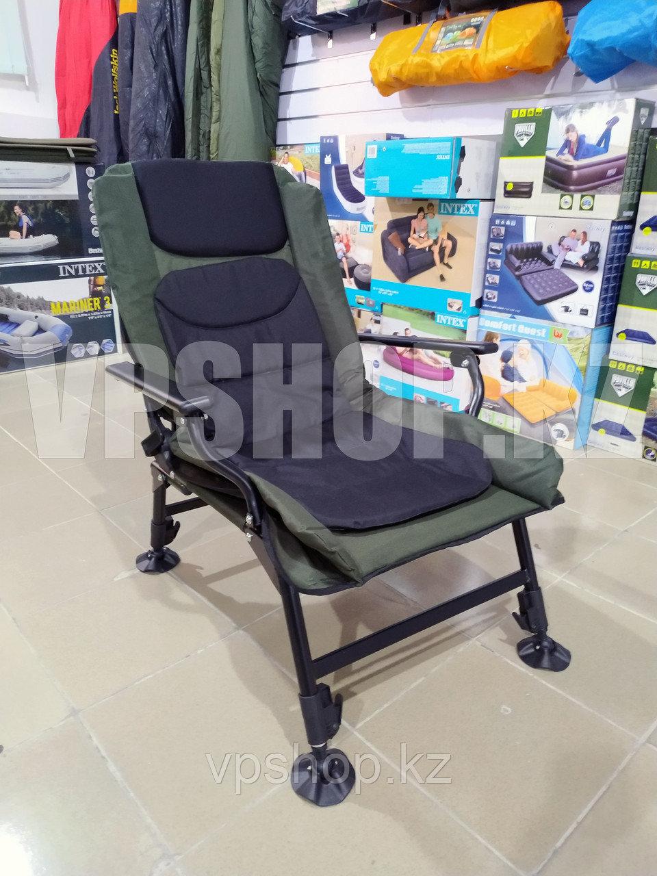 Усиленный складной стул туристический с регулировкой высоты, для рыбалки для похода для охоты, доставка
