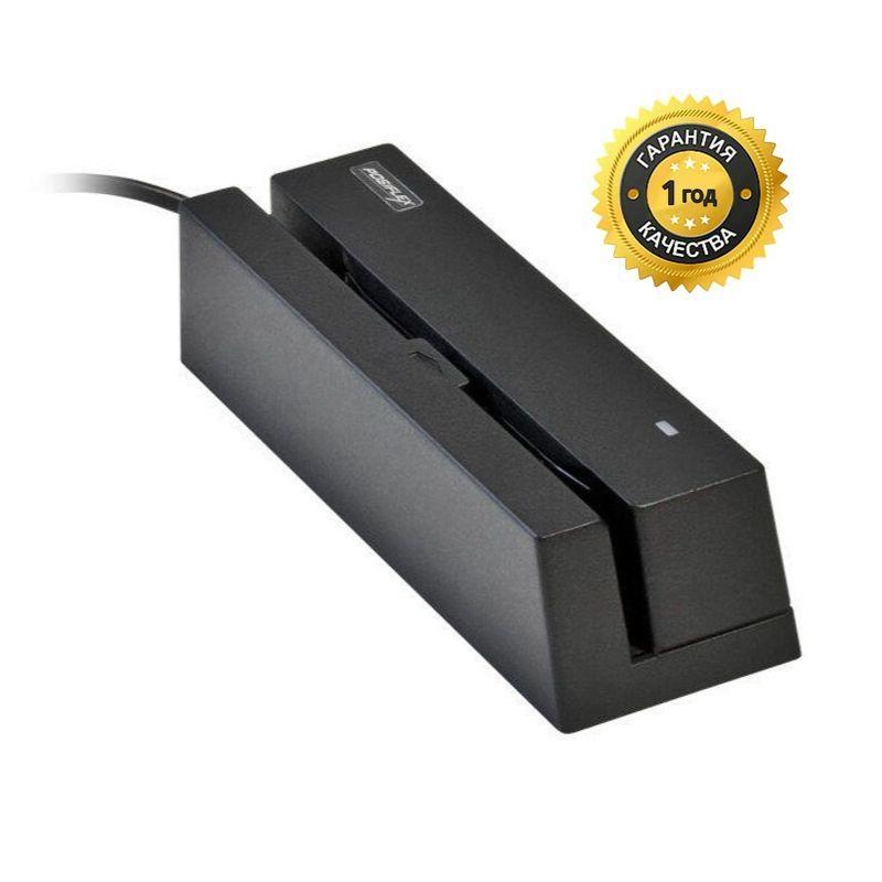 Считыватель магнитных карт Posiflex MR2100R-3 (RS232. Ivory) или (USB. Black)