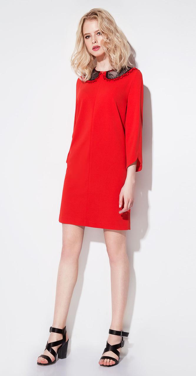 Платье Prio-196780, красный, 42