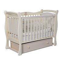Детская кроватка Антел Julia 1 Слон. кость универсальный маятник
