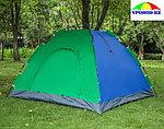Палатка-зонт 4-местная разноцветная 200*200см, фото 3