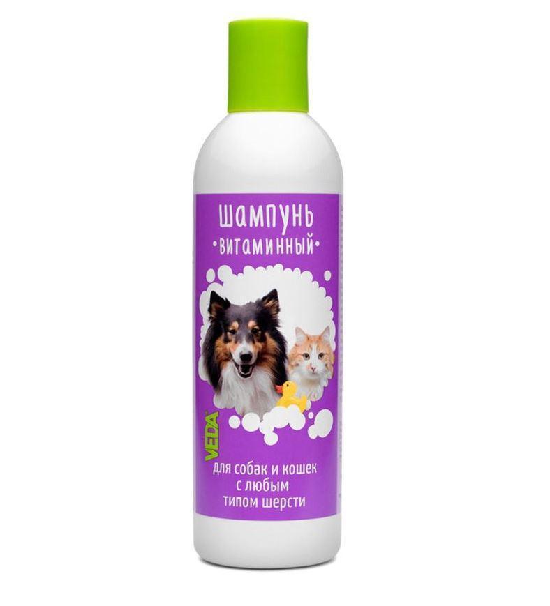 Шампунь Витаминный для кошек и собак 220мл