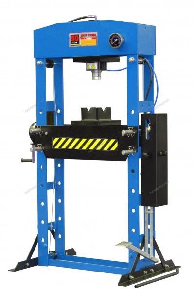 Пресс с ножным приводом, усилие 50 тонн