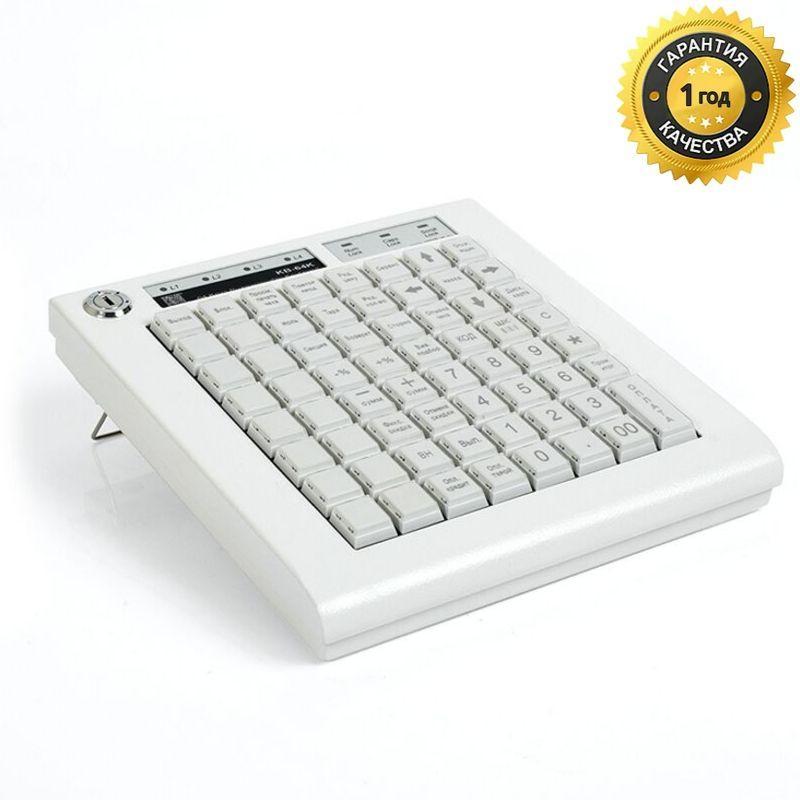 KB-64K, программируемая клавиатура, 64 клавиши, чёрная (пр-во ШТРИХ-М)
