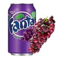 Fanta Grape Виноград 355ml США (12шт-упак)