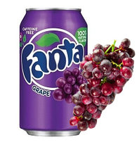 Fanta Grape Виноград 355ml США (12шт-упак)