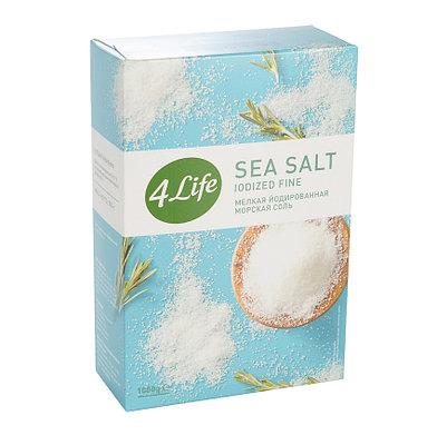 Соль морская мелкая йодированная 1000г
