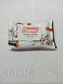 Влажные салфетки   Floppy  70шт    с Крышкой