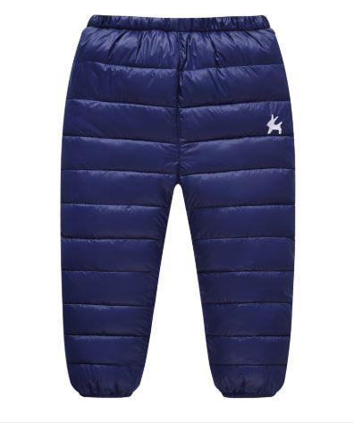 Теплые штаны, цвет синий - фото 1