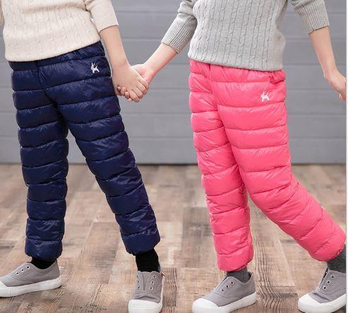 Теплые штаны, цвет синий - фото 4