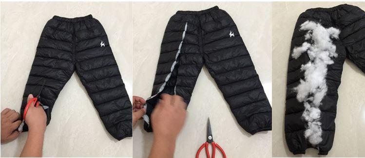 Теплые штаны, цвет черный, 2-3 года - фото 4