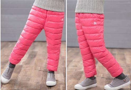 Теплые штаны, цвет розовый - фото 6