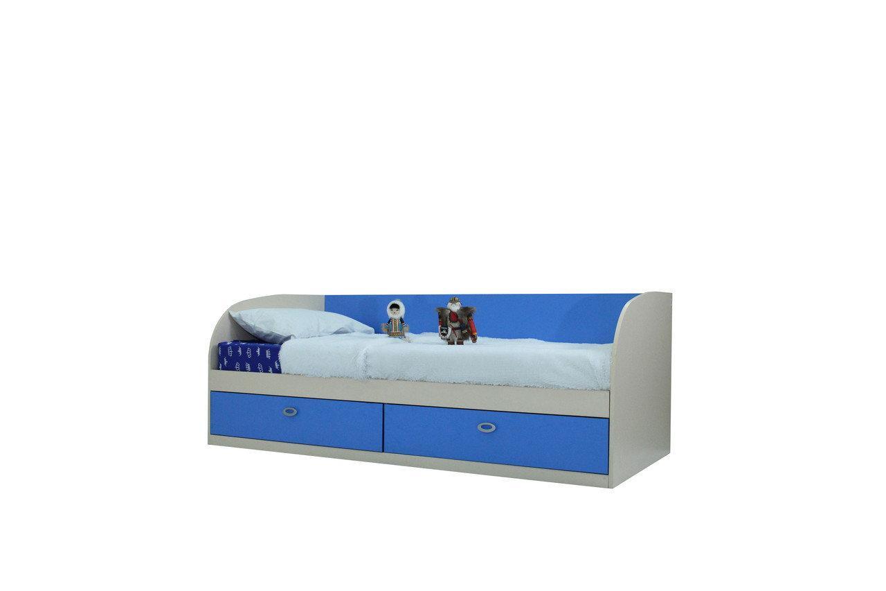 Кровать Арман Синий