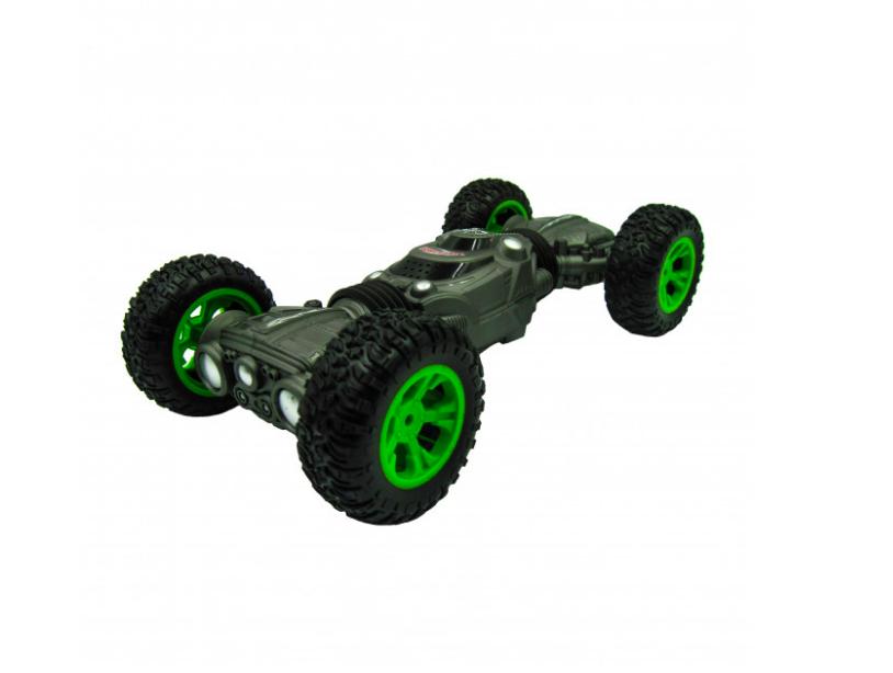 Машинка перевертыш - трансформер вездеход Twist Climbing Car 4WD , 36 см. Серый - фото 2