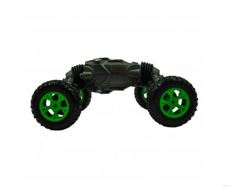Машинка перевертыш - трансформер вездеход Twist Climbing Car 4WD , 36 см. Серый - фото 3