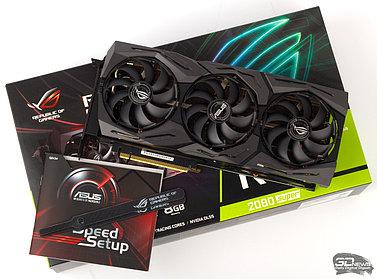 Обзор видеокарты ROG Strix GeForce RTX 2080 SUPER OC: в погоне за тишиной