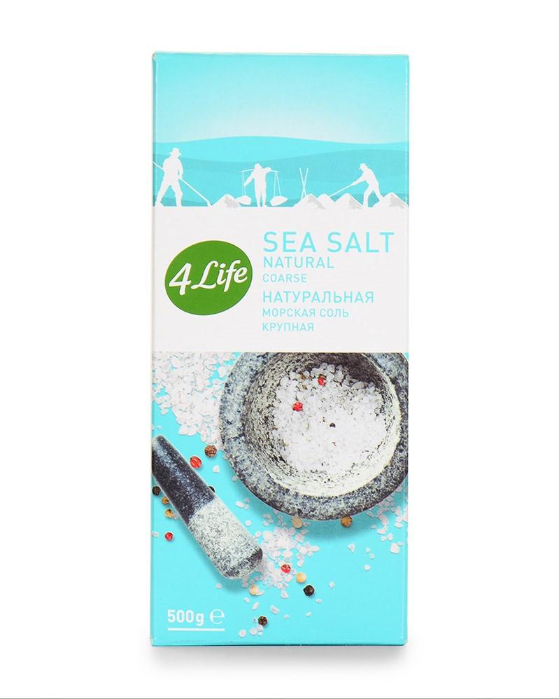 Соль морская крупная натуральная 500г