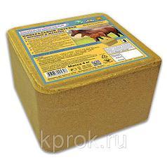 Фелуцен минеральный лизунец с магнием и железом для лошадей и жеребят Премиум 4кг, 1 шт