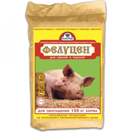 Фелуцен С2-4 для для хряков, свиноматок, поросят, ремонтного молодняка и растущих свиней на откорме 3кг, фото 2
