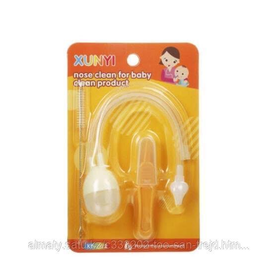 Детский аспиратор для носа (соплеотсос)