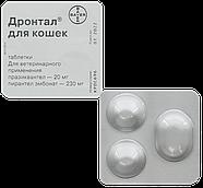 """Лекарственное средство от глистов """"Дронтал"""" для кошек, 1 табл. (в упаковке 2 шт.), фото 2"""