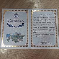 Изготовление поздравительных (приветственных) адресов