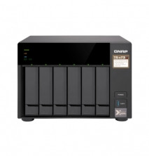 """QNAP TS-673-4G Сетевой RAID-накопитель, 6 отсеков для HDD 3,5""""/2,5"""", 2 слота M.2 SSD. AMD RX-421ND 2,1 ГГц"""