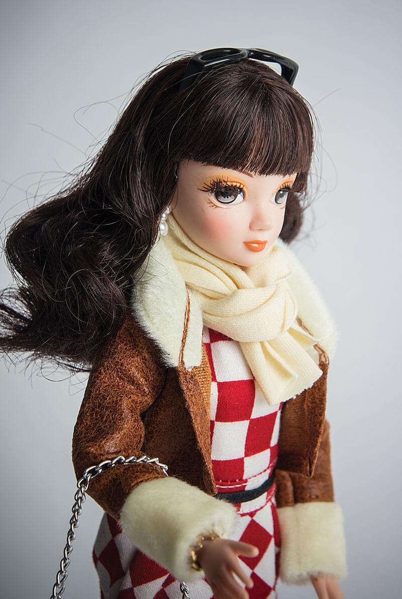 """Кукла Sonya Rose, серия """"Daily collection"""", в кожаной куртке R4328N - фото 2"""