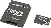 Крата памяти ADATA (microSDHC-16Gb Class10 + microSD) SD Adapter) microSecureDigital High Capacity
