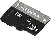 Карта памяти ADATA Premier ( AUSDH8GUICL10-R ) microSDHC 8Gb UHS-I U1