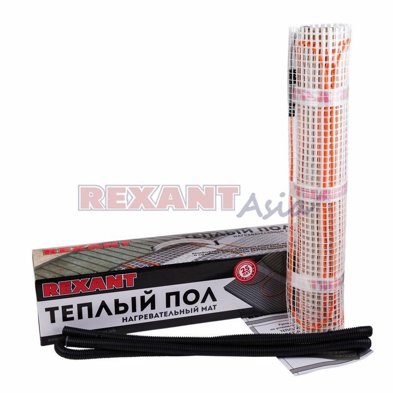 Нагревательный мат REXANT Extra, площадь 3,0 м2 (0,5 х 6,0 метров), 480Вт, (двух жильный), (51-0506 )