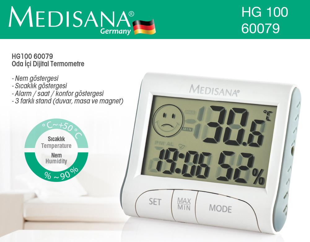 Термометр -гигрометр Medisana HG100 (Германия)
