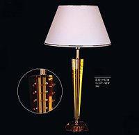 Лампа Настольная Preciosa, Чехия 50 444 86 Kufstein Amber