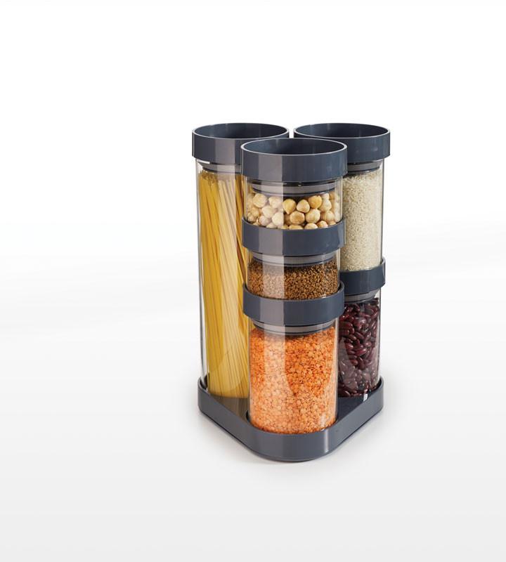 Набор емкостей для хранения Joseph Joseph FoodStore™ серая 81002