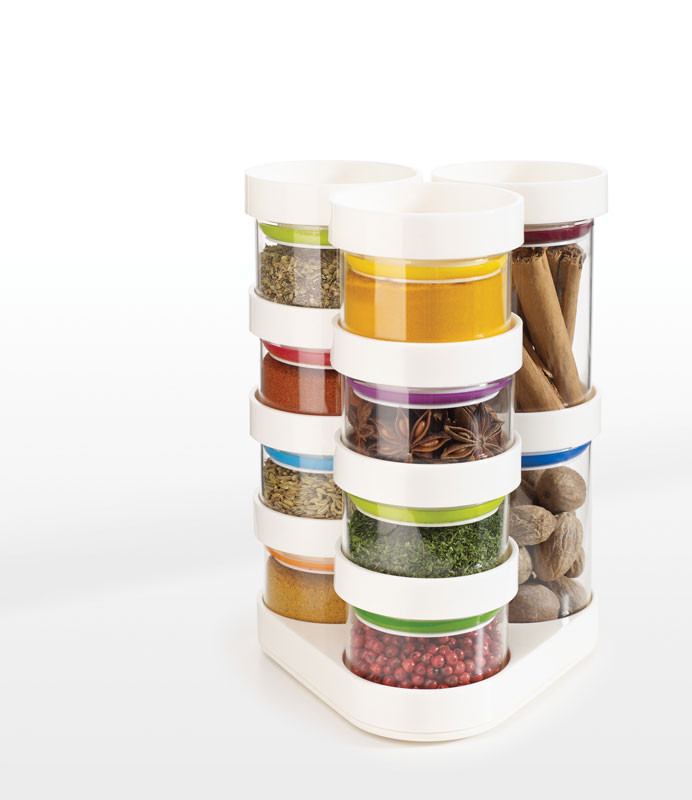 Набор емкостей для хранения специй Joseph Joseph SpiceStore™ белая 81003