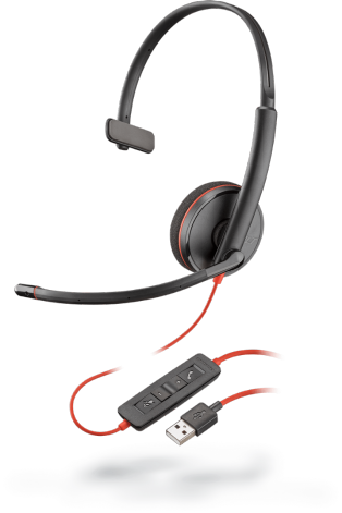 Plantronics Blackwire C3210 USB-A моно гарнитура