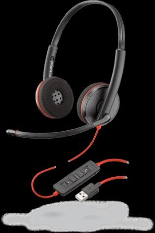 Plantronics Blackwire C3220 USB-A стерео гарнитура