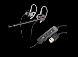 Plantronics Blackwire C435 USB-A стерео гарнитура