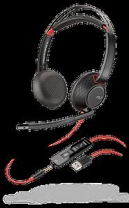Plantronics Blackwire C5220 USB-A Jack 3,5 стерео гарнитура