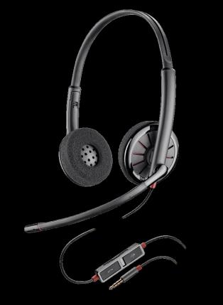 Plantronics Blackwire C225 Jack 3.5 стерео гарнитура