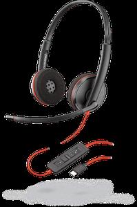 Plantronics Blackwire C3220 USB-C стерео гарнитура