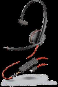 Plantronics Blackwire C3215 USB-C Jack 3,5 моно гарнитура